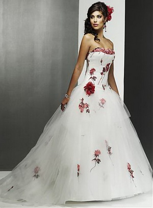 Valentines day wedding dress
