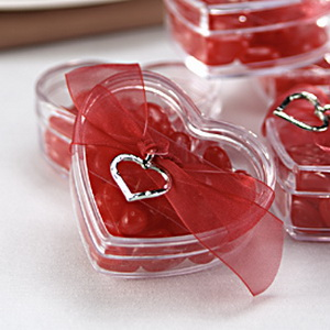 Valentines day wedding favors