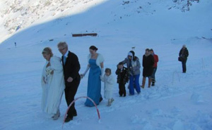 Ice Church Wedding