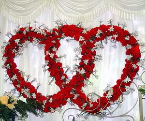 Valentines day wedding colros