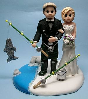 Custom-hobby-themed-cake-topper