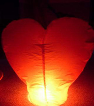 Wishing Sky Lanterns