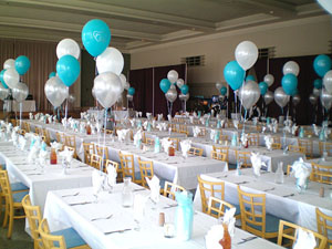 Custom color for wedding balloons