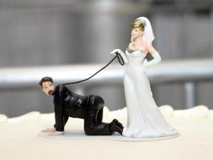 Funny position cake topper