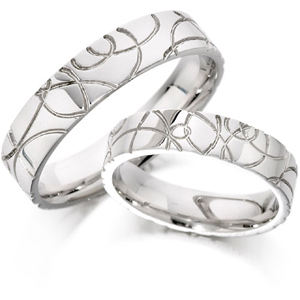 Custom design wedding bands