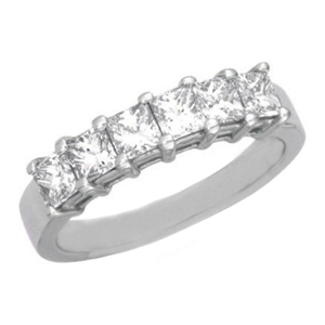 Diamond wedding bands - setting style