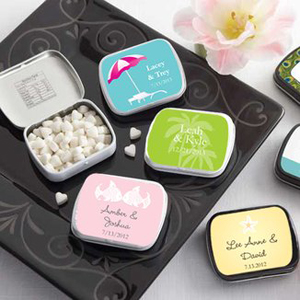 Personalized wedding candy - mints