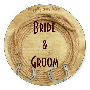 Personalized wedding stickers - labels