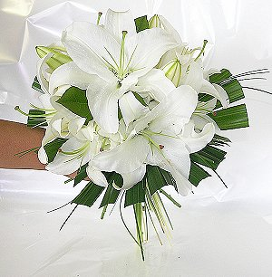 Flowers and Personality- white lilies