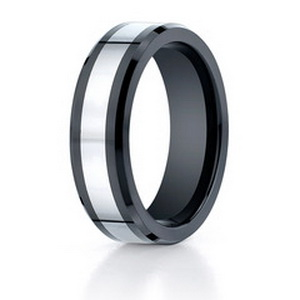 Titanium man wedding ring
