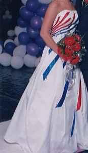 4th Of July Themed Wedding Dress