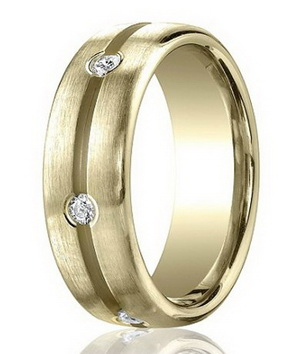 Men's Diamond Wedding Rings Hot or Not