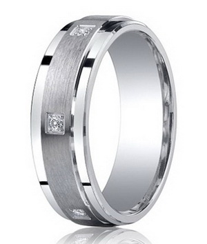 Men S Diamond Wedding Rings Hot Or Not
