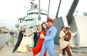 Wedding-HMS-Belfast