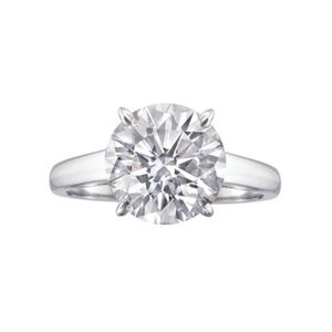round-brilliant-diamnod-ring
