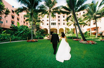 wedding at a hotel