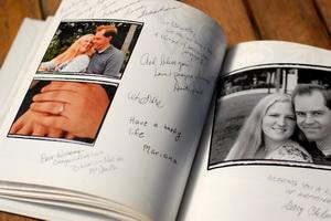 Photo Book Guest Book