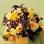 fall wedding bouquet (source:leventdesignstudio.wordpress.com )