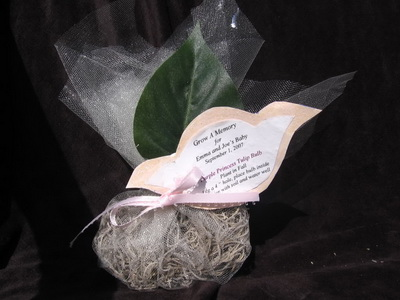 eco wedding favor