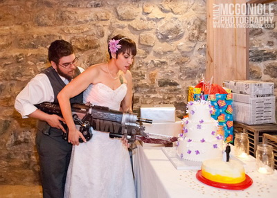 gamer wedding (source: http://whengeekswed.com/)