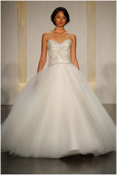 Winter wedding dress - Christmas Sparkle