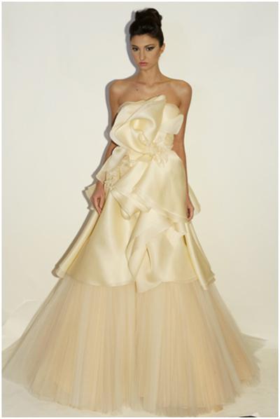 Winter wedding dress -Weird and Wonderful