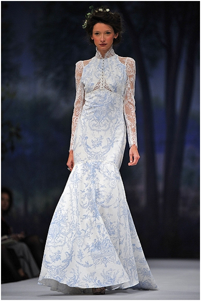 winter wedding dress -Covered Up