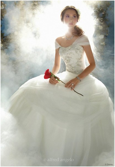 winter wedding dress - Disney Princess