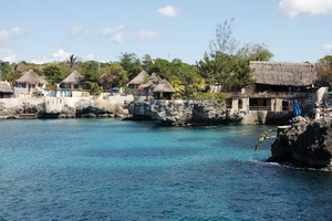 Rock house hotel in Negril