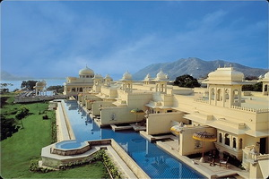 The Oberoi Udaivilas in Udaipur,