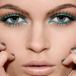 turquoise bridal makeup