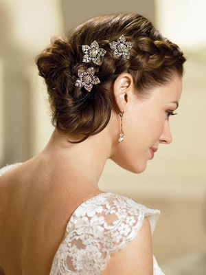 bridal hairstyle - braids