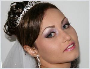 bridal makeup pink lipstick