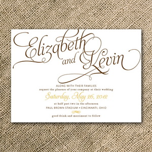 Diy wedding invitations all about wedding calligraphy wedding invitation solutioingenieria Image collections